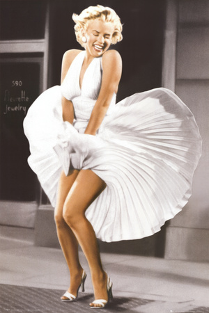 marilyn-monroe-seven-year-itch-white-dress-color
