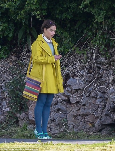 emilia and flowered shoes