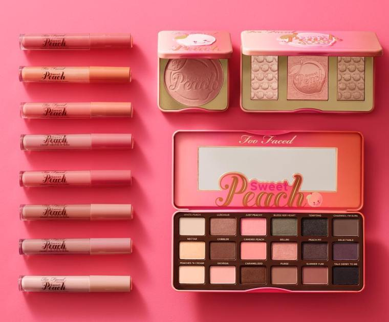 sweet peach collection too faced
